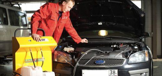 Промывка инжектора автомобиля