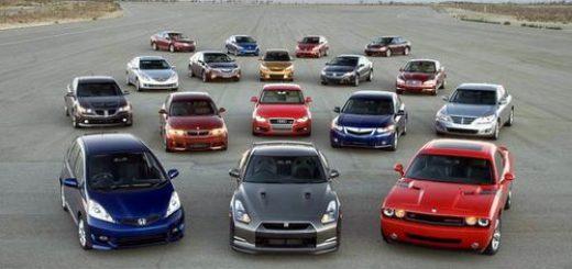 Популярные автомобили проката