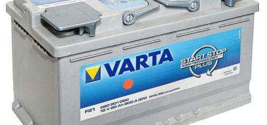Надежность аккумуляторных батарей Varta